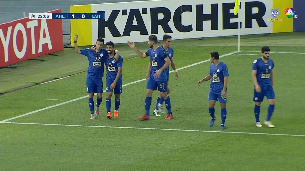ไฮไลต์ อัล อาห์ลี 2-1 เอสเตกาล ฟุตบอลเอเอฟซี แชมเปียนส์ลีก 2020