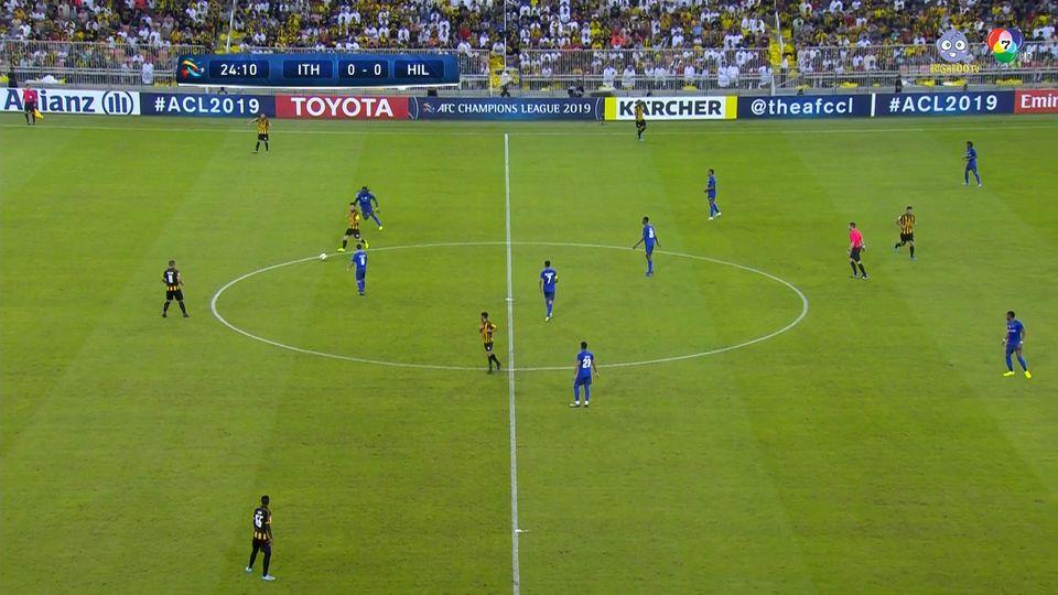 อัล อิตติฮัด 0-0 อัล ฮิลาล ฟุตบอลเอเอฟซี แชมเปียนส์ลีก 2019 คลิป 1/2