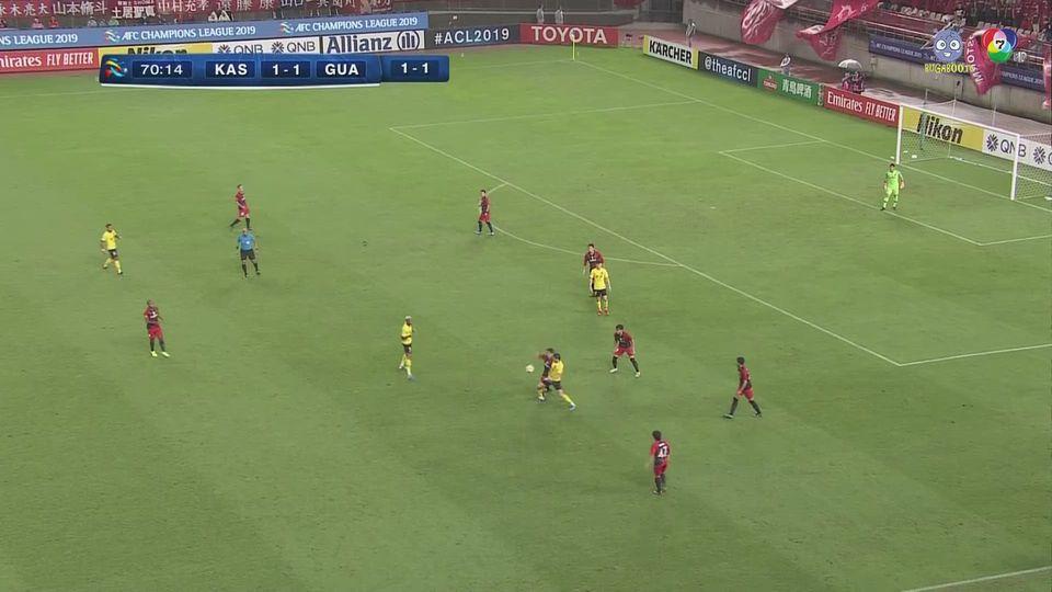 คาชิมา แอนท์เลอร์ส 1-1 กว่างโจว เอเวอร์แกรนด์ ฟุตบอลเอเอฟซี แชมเปียนส์ลีก 2019 คลิป 2/2