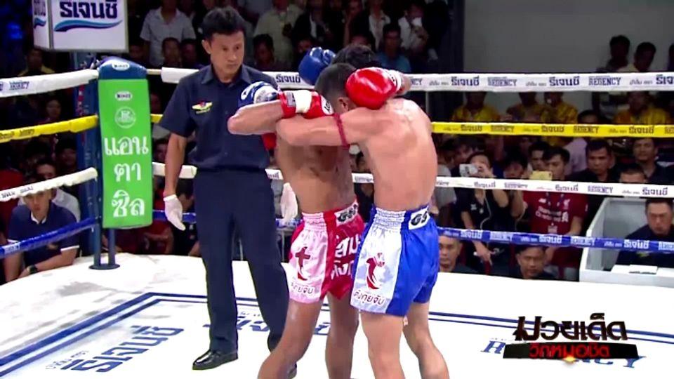 มวยเด็ด วิกหมอชิต : ผลมวยไทย 7 สี 12 ม.ค.63 กระดูกเหล็ก ก.กลมเกลียว vs มหาหิน นักบินอะไหล่ยนต์