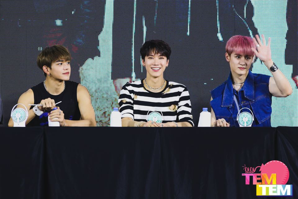 WayV 'Take Over The Moon' PRESS CONFERENCE amp; The 1st Fan Signing Event in BANGKOK