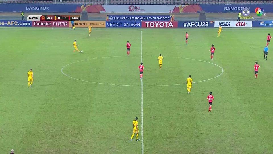ออสเตรเลีย 0-2 เกาหลีใต้ ฟุตบอล U23 ชิงแชมป์เอเชีย 2020 คลิป 2/2