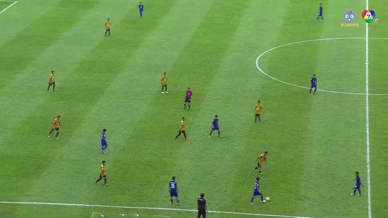 ฟุตบอล U-16 ชิงแชมป์เอเชีย 2018 ไทย 4-2 มาเลเซีย 2/2
