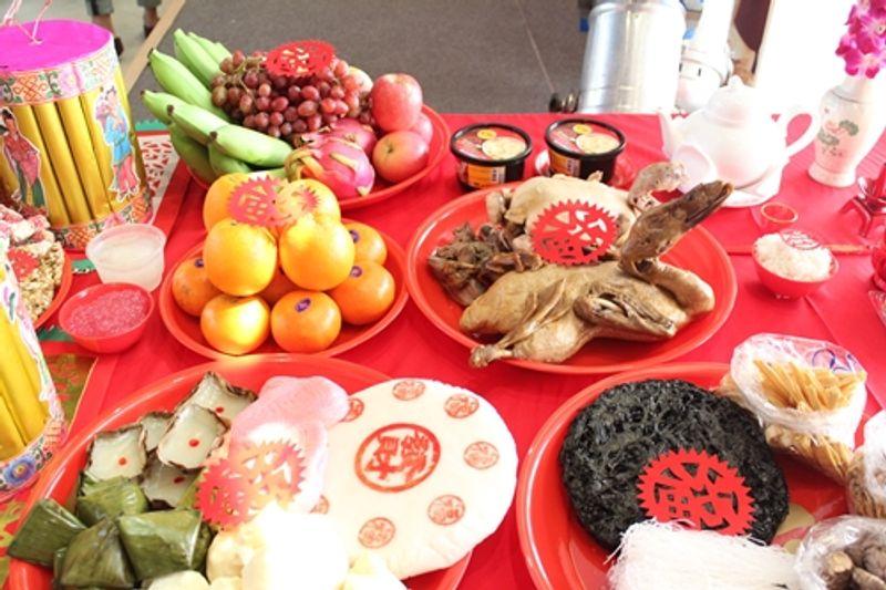 ความหมายของอาหารไหว้ ตรุษจีน