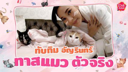 ทับทิม อัญรินทร์ กับแมวสุดน่ารักของเธอ ! l Star Cam Ep.14