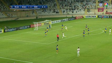ไฮไลต์ อัล วาห์ดา 2-3 อัล นาสเซอร์ ฟุตบอลเอเอฟซี แชมเปียนส์ลีก 2019