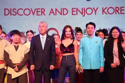 """""""ยูริ"""" นำทีมโชว์สุดพิเศษ ในงาน Annyeong Thailand, Sawasdee Korea 2019 : Discover and Enjoy Korea"""