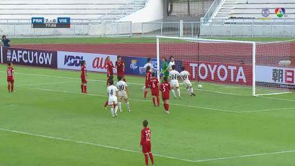ไฮไลต์ เกาหลีเหนือ 10-0 เวียดนาม ฟุตบอลหญิง U16 ชิงแชมป์เอเชีย 2019