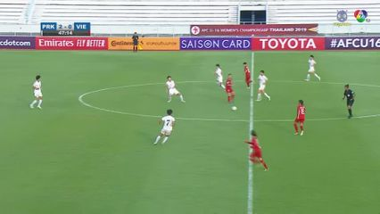 เกาหลีเหนือ 10-0 เวียดนาม ฟุตบอลหญิง U16 ชิงแชมป์เอเชีย 2019 คลิป 2/2