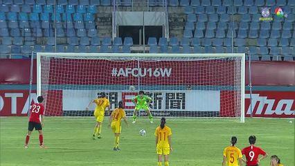 ไฮไลต์ เกาหลีใต้ 0-2 จีน ฟุตบอลหญิง U16 ชิงแชมป์เอเชีย 2019
