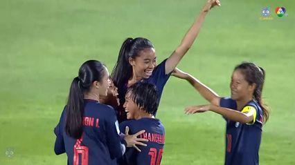 ไฮไลต์ ไทย 1-0 บังกลาเทศ ฟุตบอลหญิง U16 ชิงแชมป์เอเชีย 2019