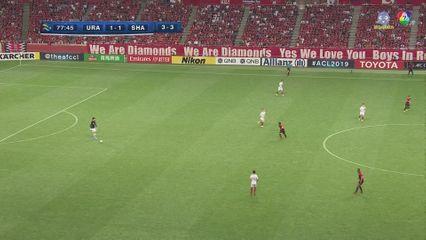 อูราวะ เรด ไดมอนด์ส 1-1 เซี่ยงไฮ้ เอสไอพีจี ฟุตบอลเอเอฟซี แชมเปียนส์ลีก 2019 คลิป 2/2