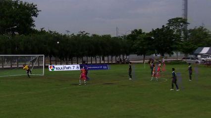 Hot Shot - ลูกยิงครึ่งสนามของ ไกรสิทธ์ ตั้งทรงเจริญ ในฟุตบอลแชมป์กีฬา 7 สี 2015