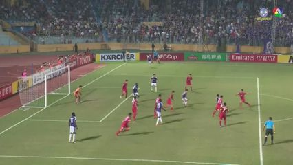 ฟุตบอลเอเอฟซี คัพ 2019 Hanoi FC 2-2 4.25 SC คลิป 2/2