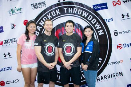 The Bangkok Throwdown ครั้งที่6 จอมพลัง Crossfit เดินทางร่วมแข่งขันชิงเจ้าแห่งความแข็งแกร่ง