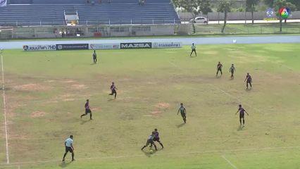 เศรษฐบุตรบำเพ็ญ 0-1 เบญจมราชูทิศ ราชบุรี ฟุตบอลแชมป์กีฬา 7HD 2019 รอบคัดเลือก 1/2
