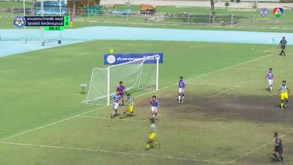 สวนกุหลาบวิทยาลัยชลบุรี 1-2 วิสุทธรังษี จังหวัดกาญจนบุรี ฟุตบอลแชมป์กีฬา 7HD 2019 รอบคัดเลือก 1/2