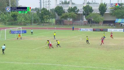 ปากช่อง 4-3 พรหมานุสรณ์จังหวัดเพชรบุรี ฟุตบอลแชมป์กีฬา 7HD 2019 รอบคัดเลือก 1/2