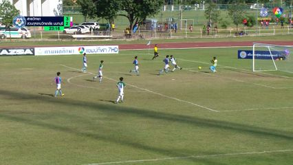 สารวิทยา 4-2 สวนกุหลาบวิทยาลัย นนทบุรี ฟุตบอลแชมป์กีฬา 7HD 2019 รอบคัดเลือก 1/2