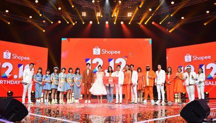 'อั้ม พัชราภา' นำทีมสร้างความสนุกในแคมเปญ 'Shopee 12.12 Birthday' พร้อมระดมทุนให้ 12 องค์กรการกุศล