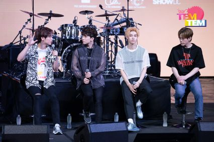 (PIC) N.FLYING LIVE 'UP ALL NIGHT' IN BANGKOK