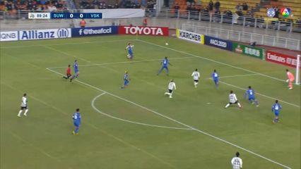 ซูวอน บลูวิงส์ 0-1 วิสเซล โกเบ ฟุตบอลเอเอฟซี แชมเปียนส์ลีก 2020 คลิป 1/2