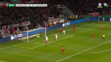 ไฮไลต์ฟุตบอลเดเอฟเบ ไบเออร์ เลเวอร์คูเซ่น 3-1 ยูนิโอน เบอร์ลิน