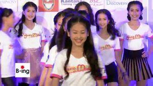 งานแถลงข่าวเปิดตัว 24 สาววัยทีน การประกวด Young Model 2014