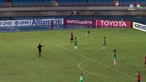 ฟุตบอลเอเอฟซี คัพ 2019 Hang Yuen Fc 1-1 Wofoo Tai Po คลิป 1/2