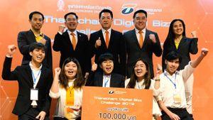 สุดเจ๋ง! ทีมนศ. มศว คว้าแชมป์ Thanachart Digital Bizz Challenge 2019