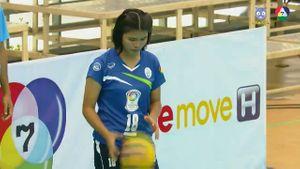 วอลเลย์บอลแชมป์กีฬา 7 สี ม.กรุงเทพ vs มรภ.สวนสุนันทา 1/5