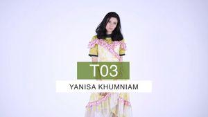 T03 ญาณิศา คำเนียม ผู้เข้าประกวด ไทยซูเปอร์โมเดลคอนเทสต์ 2018