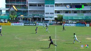 สารวิทยา 0-1 อัสสัมชัญ ฟุตบอลแชมป์กีฬา 7 สี 2018 รอบสุดท้าย 1/2