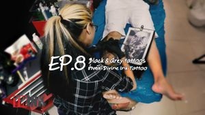 THINK | EP.8 Black & Grey Tattoo ช่างอัล