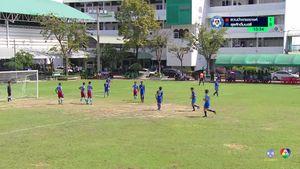 สวนป่าเขาชะอางค์ 1-2 สุรศักดิ์มนตรี ฟุตบอลแชมป์กีฬา 7 สี 2018 รอบสุดท้าย 1/2