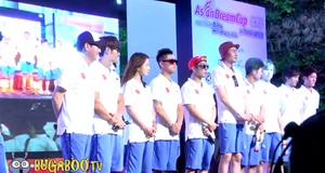 Running man (Asian Dream Cup 2012 in Thailand)
