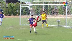 อัสสัมชัญธนบุรี เฉือน กรุงเทพคริสเตียนฯ 2-1 ลิ่วรอบรองฯ ฟุตบอลแชมป์ 7 สี