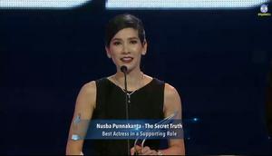 กระหึ่ม! นุสบา ปุณณกันต์ คว้ารางวัล Asian Television Awards 2015 สาขานักแสดงสมทบหญิง