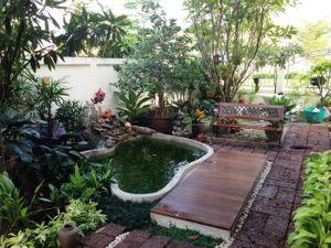 ฮวงจุ้ยการจัดสวนน้ำตก บ่อน้ำหน้าบ้าน และความรู้เรื่องบ่อปลาในหลักของฮวงจุ้ย
