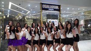 20 สาวมั่นผู้เข้าประกวด Thai Supermodel Contest 2019 ร่วมทำกิจกรรมอบรมการแต่งหน้า