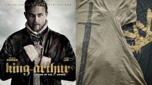 กิจกรรมแจกเสื้อยืดสุดเท่ จากภาพยนตร์ King Arthur จำนวน 5 รางวัล
